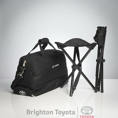 New Official Toyota Merchandise CHR Cooler and 2 Stools  Part TMCHR008