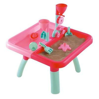 ROOM STUDIO Table de Jeu  Sable et Eau Rose