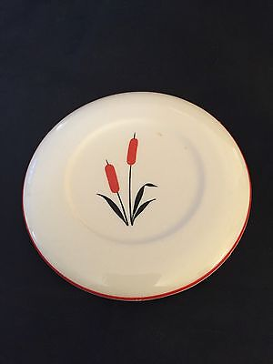 """Cattails 4-1/8"""" Refrigerator Dish Lid Only Universal Pottery"""