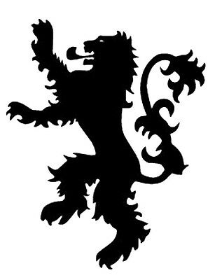 Vinyl Decal Truck Car Sticker Laptop - Game Of Thrones House Lannister