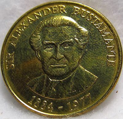 1994 Jamaica One Dollar ~ Another Brilliant Brass Coin ~ KM# 145a
