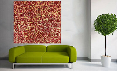 "39"" Bush Petals   oil Painting Aboriginal Art Canvas Large jane crawford"