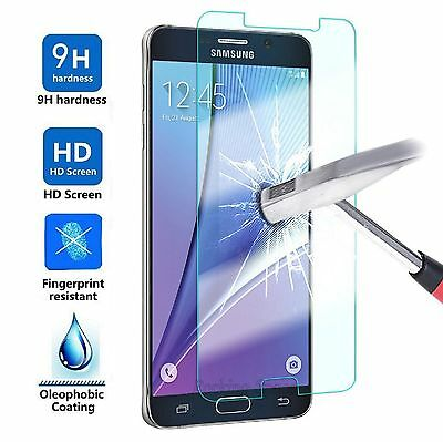 2x Tempered Glass Protective Screen Protector Film for Samsung Galaxy J1/2/3/5/7