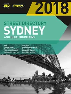 Sydney & Blue Mountains Street Directory 2018 54th ed: including Truckies by UBD