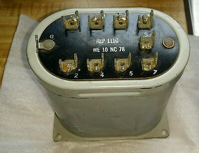NEW OLD STOCK WESTERN ELECTRIC transformer 111C