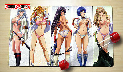Yugioh Play Mat MTG VG Playmat Large Mouse Pad Anime Sexy Girl FREE TUBE #012