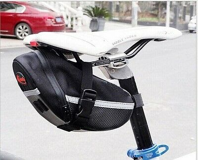 Portable Waterproof Cycling Bicycle Bike Saddle Outdoor Pouch Back Seat Bag