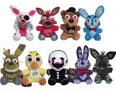 "7"" 18cm Five Nights at Freddy's 4 FNAF Game Plush Dolls Kids Plush Toy Gift"