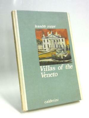 Villas of The Veneto  Book (Leandro Zoppé - 1976) (ID:63969)