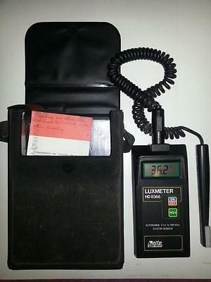 Delta Ohm Luxmeter HD8366 (Used from around 1994, Italy)