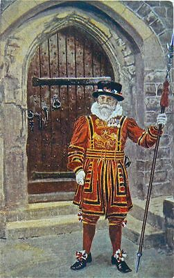 Postcard:gale & Polden.yeoman Warder Of The Tower.early 1900's.great Image