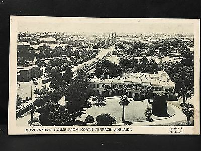 Vintage photo postcard government house from nth terrace for Watch terrace house season 2