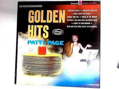 Golden Hits Comp (Patti Page - 1981) SR-60495 (ID:14948)