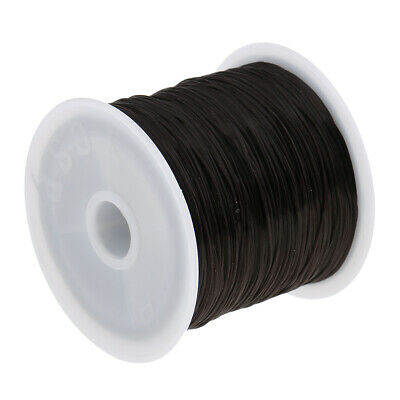 Salon Cotton Hair Track Weave Sew Decor Thread for Hair Extension Tool Black