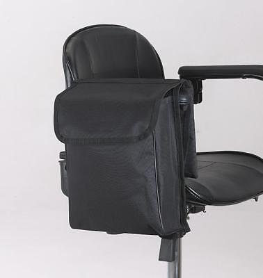 Mobility Scooter / Wheelchair pannier bag with wallet from Ducksback (Black)