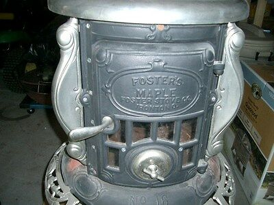 Two Wood Stoves, Coal Stoves, Antique Stoves, Vintage Stoves, Restored