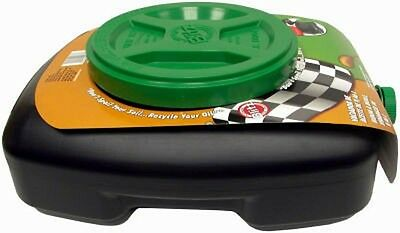F3 Brands 10 QT, Oil Drain Pan, With Recloseable Lid & Filter Screen. 11837