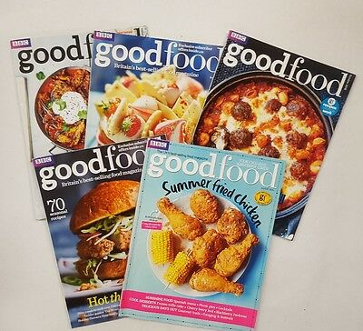BBC GOOD FOOD magazines 5 copies mostly 2016 (1 from 2015, 1 from 2017) (8)