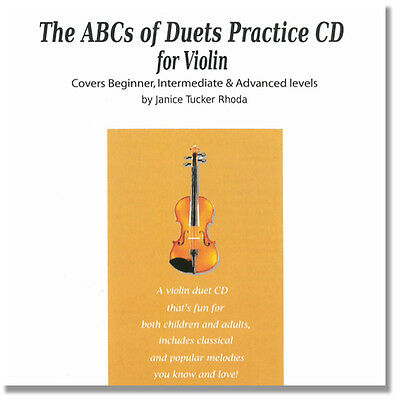 The ABCs of Duets for Violin: Practice CD by Janice Tucker Rhoda