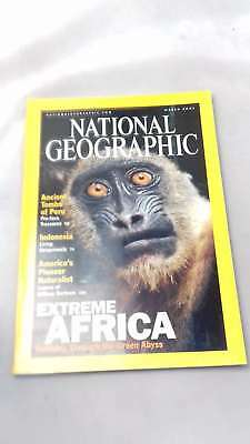 the national geographic magazine march 2001, editor | Single Issue Magazine | 20