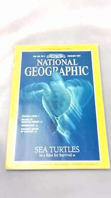 National Geographic Magazine Vol 185 No 2 February 1994,  | Paperback | 1994-01-