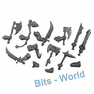 Warhammer Bits: Warriors Of Chaos Putrid Blightkings - Hand Weapons W/ Arms