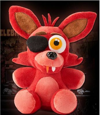 "7"" 18cm Hot FNAF Five Nights at Freddy's FOXY PIRATE Plush Soft Toys Kids Doll"