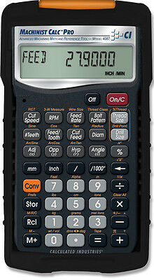 New Calculated Industries 4087 Machinist Calculator Pro With Armadillo Case