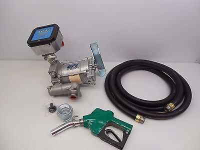 Gpi Automatic Nozzle 20 Gpm 115V Meter Fuel Transfer Pump