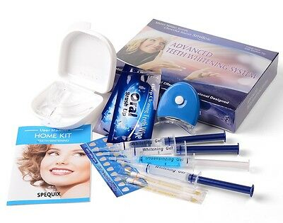 SPEQUIX Advanced Professional Teeth Whitening Kit Tooth Gel Bleach Strong White