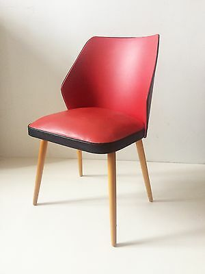 Stylish Mid Century Vintage West German Cocktail Easy Chair