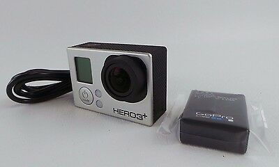 Used GoPro Hero3 + Digital Camera Silver Edition Hero 3 + Camcorder  #OOk89