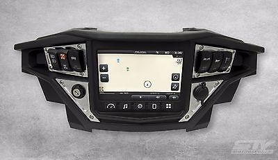 NEW 2017 POLARIS RZR XP 1000 RIDE COMMAND ALUMINUM DASH PANEL + 4 Laser Switches