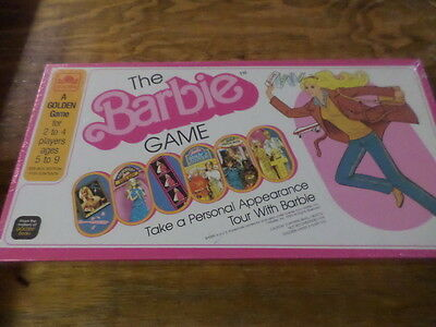"The Barbie Game ""Take a Personal Appearance Tour with Barbie"" New Unopen Game"