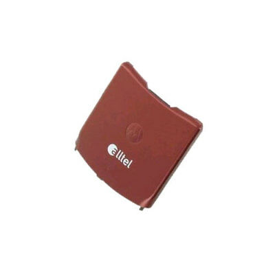 OEM Motorola RAZR V3a Battery Door - Fire Red