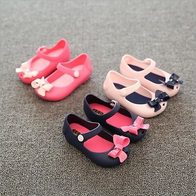 For Children Kids Girls Toddler Cartoon Cute Sandals Summer Jelly Rubber Shoes