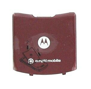 Motorola OEM RAZR V3m Standard Battery Door (Fire Red)