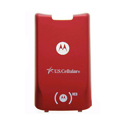 OEM Motorola KRZR K1m Battery Door - Red (US Cellular)