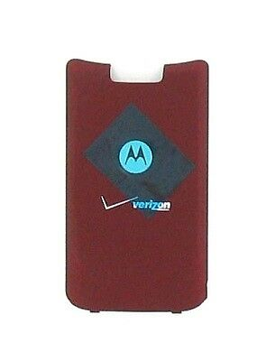 OEM Motorola KRZR K1m Standard Battery Door - Fire Red