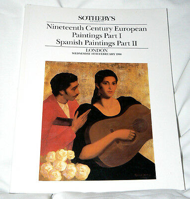 Sotheby's- London - 19th Cent. European/Spanish Paintings- 1990 - 298 items