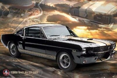 New Mustang GT 350 Ford Shelby Poster