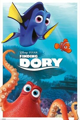 Finding Dory Characters Poster 61x91.5cm