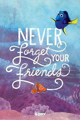 Finding Dory Never Forget Your Friends Poster 61x91.5cm