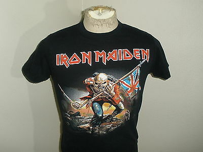 Vintage Style IRON MAIDEN Heavy Metal Band Concert Shirt T-shirt Adult XS/S