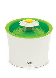 Catit Flower Fountain - 3L Fountain with Triple-Action Filter -  Adjustable Flow