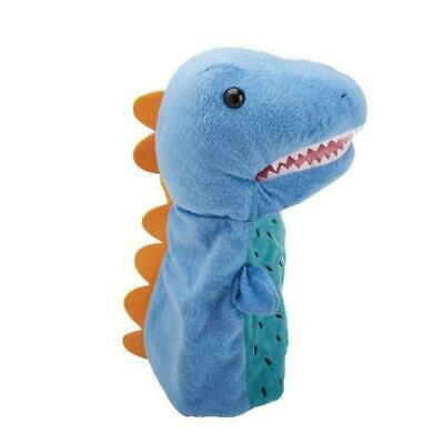 Hand Puppet Large Dinosaur Show Marionette Kids Toy Animal Doll Role Play Plush