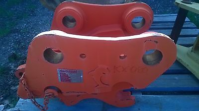 Excavator Quick Hitch  Kubota Kx 080
