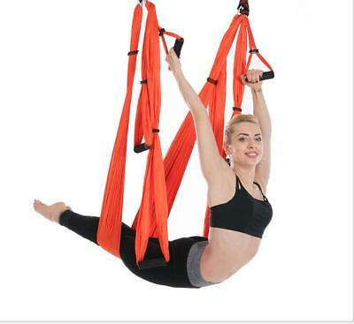 Anti-gravity Inversion Yoga Therapy Aerial Swing Hammock Large Bearing Home Gym