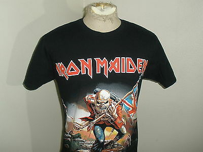Vintage Style IRON MAIDEN Heavy Metal Band Concert Shirt T-shirt Adult Large