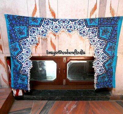 Vintage Door Decor Indian Door Hanging  Window Valance Home Decor Toran Tapestry